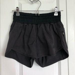 SOLD ⭐️ Lululemon black tracker shorts